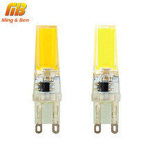 [MingBen] G9 LED Bulb Corn Spotlight AC 220V 230V 240V 3W Dimmable Regulable 360 Beam Angle COB Chip Replace 30-40W Halogen Lamp(China)