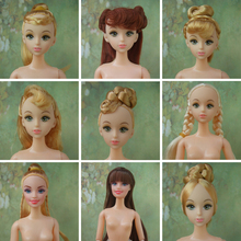 Factory Wholesales 200pcs Assort models Quality Doll Head For Barbie Dolls /  Joints doll head for sales