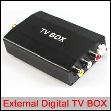 External Digital TV/DTV box for car DVD gps player,ATSC/DVB-T/ISDB external TV box for car DVD GPS PLAYER Wince and Android OS
