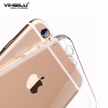 For iPhone 6s Protect Camera Case For iPhone 7 TPU Transparent Back Cover For Apple iPhone 7 6 8 Plus Caso Phone Cases Coque(China)