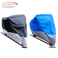 2017 NEW Motorcycle Cover Outdoor UV Protector Waterproof Dustproof Theftproof 190T Covers for Motorcycle Motor Scooter Bike
