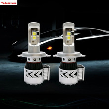 New Technology! 160W H4/9003/HB2 (pair) CREE XHP-50 Chips LED Headlights Dual Beam HID Head Lamps Bulbs Fog Headlamp 12000lms