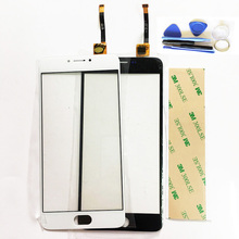 New For Meizu M3 Note Touch Screen Digitizer Front Glass Replacement For Meizu M3 Note Sensor Touchscreen Lens (No L681H ) Tool(China)