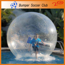 Free shipping! Manufacturer !  0.8mm TPU New Water Walking Ball Inflatable Bubble Ball Walk Water