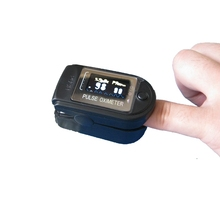 best price OLED Display SpO2 PR with CE FDA Fingertip Pulse Oximeter black Color Pulsioximetro Oled Heart Rate Monitor(China)