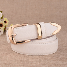 All-match fashion ladies casual leather belts ladies new hot ladies casual fashion belt decoration strip paint alloy buckle belt