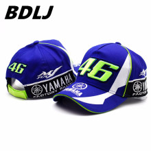 BDLJ High Quality MOTO GP 46 Motorcycle 3D Embroidered F1 Racing Cap Men Women Snapback Caps Rossi VR46 Baseball Cap YAMAHA Hats