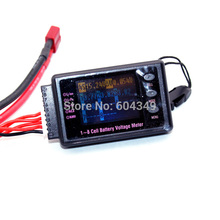 BVM digital 1-8S LCD battery voltage meter Tester Buzzer lipo/lion/liFe/nimh/pb(China)