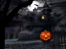 Halloween pumpkin lantern Night Festival a huge poster, the best wall decoration 40x60cm