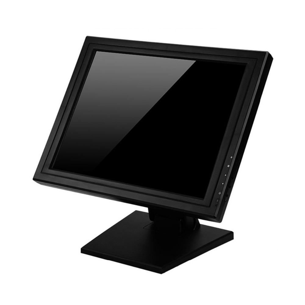 Wearson POS Monitor Display 15 inch Touch Screen LCD Computer Display Monitor With Heavy Stand (3)