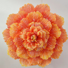 70cm Retro Chinese Peony Flower Umbrella Props Dance Performance Props Wedding Decoration Photograph Fancy Dress Umbrella ZA3484