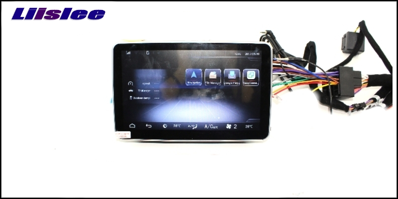 Liislee Car Multimedia Player NAVI For Mercedes-Benz MB ML GLE M Class W166 2011~ 2017 Car Radio Stereo GPS Navigation 10