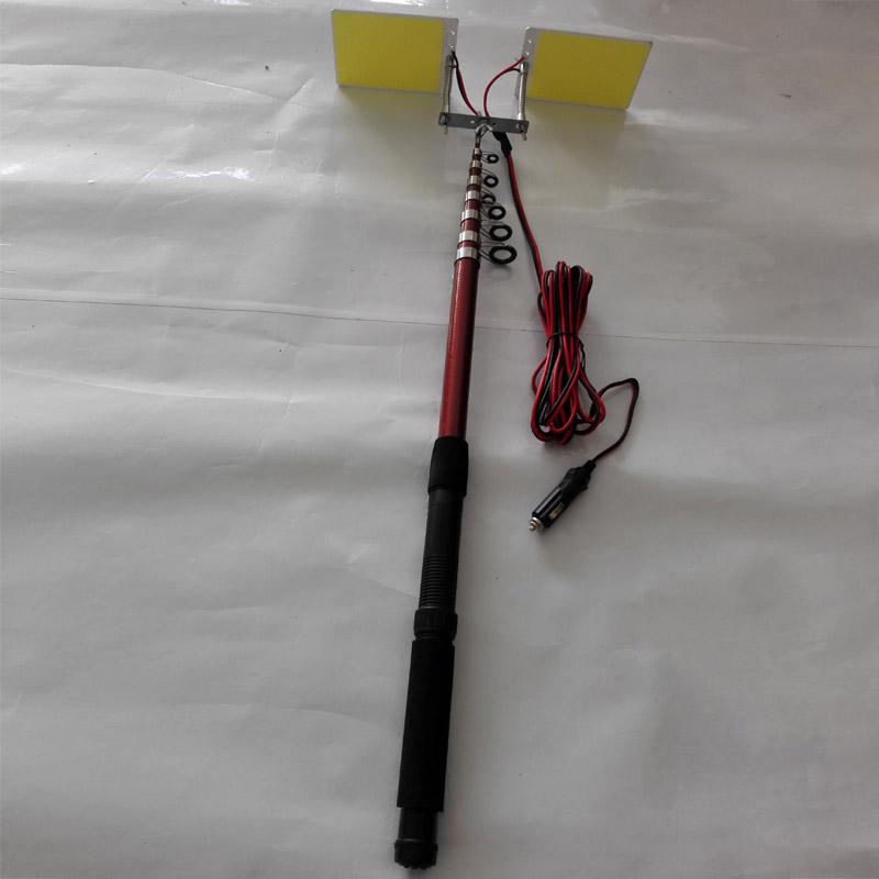 angle adjustable LED fishing rod light, angle adjustable LED camping lights