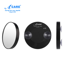 ACARE hot 5X 10X 15X Makeup Mirror Pimples Pores Magnifying Mirror With Two Suction Cups Makeup Tools Round Mirror Mini Mirror