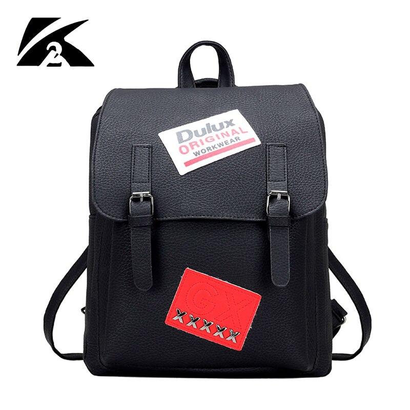 KVKY 2016 New travel Bag Solid high quality leather men backpack shoulder bag Schoolbag computer Travel bag women backpack<br><br>Aliexpress