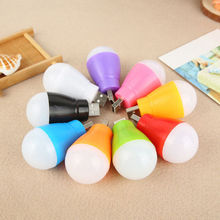 Portable Mini USB LED Ball Light Camp Lamp Bulb For Laptop PC Desk Reading Lots Be the first to write a review.(China)