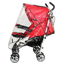 New Baby Kids Practical Clear Transparent Waterproof Raincover Wind Dust Shield For Lvoely Infant Baby Strollers Pushchairs LM75
