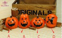 Novelty Pumpkin Candles Halloween day party home decoration gift present for children kid