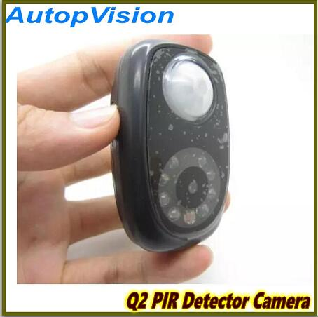 Q2 PIR Detector Camera Mini DVR with Night vision and Infrared body induction<br>