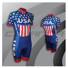 CELANDA 2017 USA Team Cycling Skinsuit Men's Triathlon Sports Clothing Cycling Clothing Set Ropa De Ciclismo Maillot