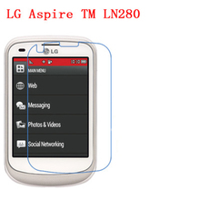 5 Pcs Ultra Thin Clear HD LCD Screen Guard Protector Film With Cleaning Cloth For LG Aspire TM LN280.