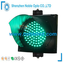 200mm PC Housing 12V Solar Led Traffic Light With 2 Years Warranty(China)