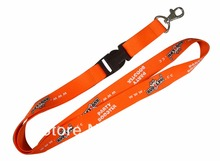 fast shipping custom20mm*90cm 100pcs/lot sublimation printed logo mobile lanyard with buckle and metal hook cheap lanyard neck