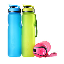 Buy 1L BPA Free Creative portable Plastic Drinkware Water Bottles FROSTED Space Outdoor Sport Water Bottle for $7.46 in AliExpress store