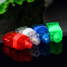 TAOS 100 PCS Mixed Shell Color LED Finger White Flashlight Lights Lamp Toy Party Birthday Christmas Concert Decorations Light