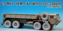 1/35 Scale m977 heavy expanded mobility tactical truck tires*9resin Models Kit Free Shipping(China)