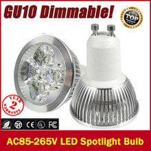 1X High power CREE GU10 E27 GU5.3 E14 3X3W 9W 4x3W 12W 5X3W 15W 85-265V Dimmable Light lamp Bulb LED Downlight Led Bulb