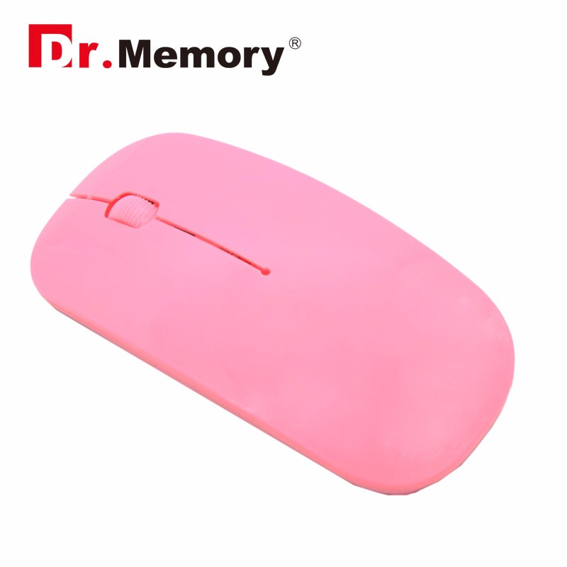 2.4Ghz  Portable Wireless mouse Ultra thin computer PC optical usb gaming mouse 7 colors free shipping wireless mouse