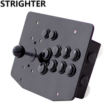 arcade joystick 10 buttons all black pc controller computer game Arcade Sticksss new King of fighters Joystick Consoles