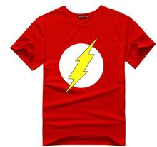 The BIG BANG Theory T-SHIRT the flash print women and men t shirts hot selling casual Tee shirt S~XXL cotton clothing dropship(China)