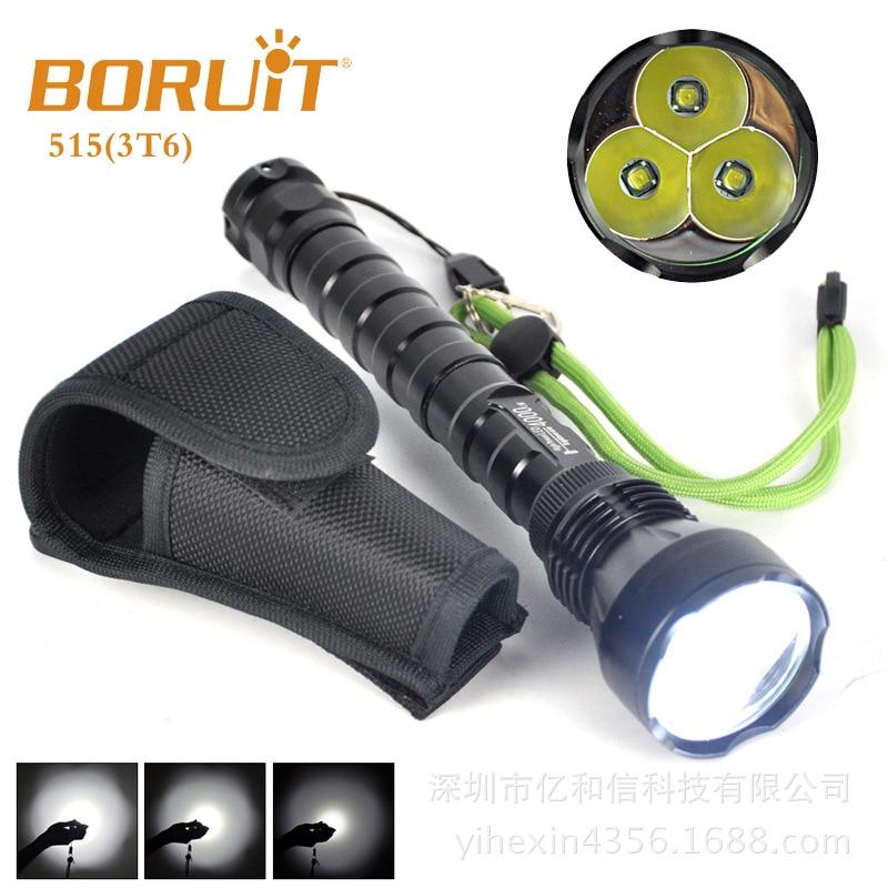 3 LED XM-L T6 Flashlight Aluminum Flashlight 3800LM Search,hunting,patrol,daily carry,self-defense,night riding<br><br>Aliexpress