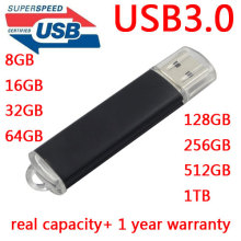 Metal USB 3.0 High Speed 64GB USB Flash Drive 128GB Pendrive 256GB Pen drive 512GB 1TB Memory Stick 512GB Drives Memory Gift