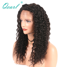 Thick 180% Density Long Virgin Brazilian Lace Front Human Hair Wigs Baby Hair Pre-Plucked Hairline For Black Women(China)