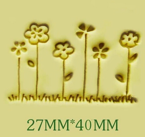 Free shipping six little flower pattern Mini diy soap stamp chaprter seal 2.6*4cm<br><br>Aliexpress