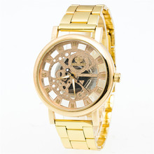 Luxury Boys Stainless Steel Pointer Quartz Wrist Watch erkek kol saati new 2017 dropp shipping relogio masculino