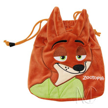 Anime/Cartoon Zootopia/Zootropolis Vulpes Nick Wilde Jewelry/Cell Phone Drawstring Pouch/Wedding Party Gift Bag (DRAPH_11)