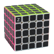 Zcube 5x5x5 Magic Cube Competition Speed Puzzle Cubes Toys For Children Kids cubo Carbon Fiber Sticker Magic cube Gifts Toys