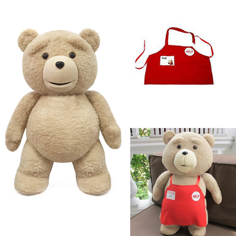 Movie Teddy Bear Ted 2 Plush Toys Soft Stuffed Animals Children Kids 46CM<br><br>Aliexpress