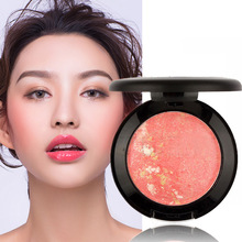 Makeup Blusher Long Lasting Shimmer Pigment Minerals Face Contour Baked Bronzer Palette Accessories HS11(China)