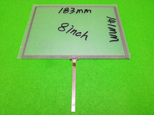 New 8.0 inch 4wire Resistive touch panel for 4wire Resistive 183mm*141mm touch panel Free shipping(China)
