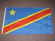 DEMOCRATIC REPUBLIC OF THE CONGO BANNER High Quality Flag Custom flag Drop Shipping