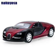1:32 Scale Model Bugatti Veyron Diecast Car Model With Sound&Light Collection Car Toys Vehicle Gift(China)