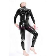 rubber latex sexy adult garment latex inflatable catsuit rubber Teddies & Bodysuits   costume