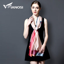 [VIANOSI] 2017 Luxury Bandana Women hijab Print Scarf Long Shawls Brand Silk Scraf Women Scarves Summer VA101(China)