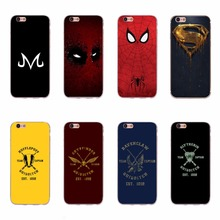 Cool Hufflepuff Slytherin Ravenclam Gryffindor Quidditch Team Phone Cases Superman Spiderma Cover For iPhone 6 6S 5 5S SE 7 Plus