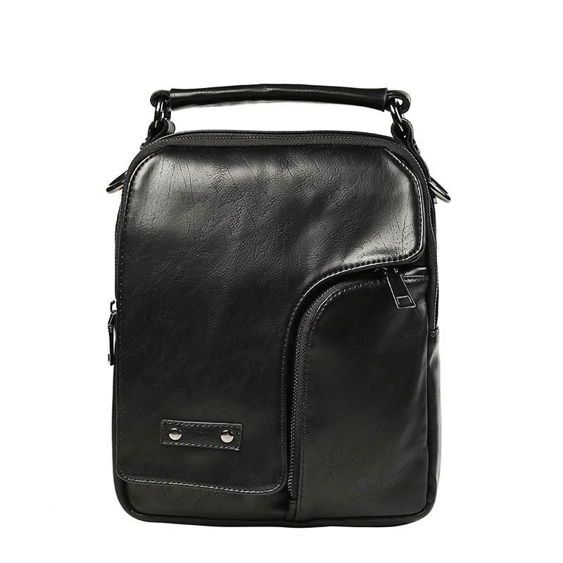 Men Handbag New Arrival Mens Messenger Bags Business Zipper Crossbody Bag Solid Light PU Leather Shoulder Bags<br><br>Aliexpress